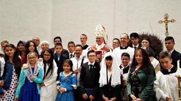 Confirmaciones Bogotá foto grupal